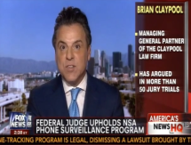 "Brian Discusses the NSA ""Metadata"" Collection on Fox News"