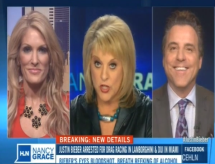 Brian Claypool on with Nancy Grace Regarding Justin Bieber