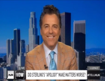 "Brian Claypool on HLN Now, Did Sterling's ""Apology"" Make Matters Worse?"