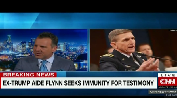 Brian Claypool Comments on Michael Flynn Seeking Immunity for Testimony