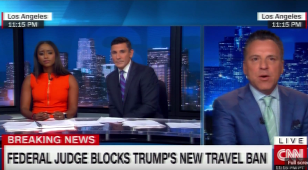 Brian Claypool Comments on Block of Trump's New Travel Ban
