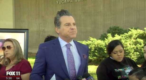 Coverage of the Press Conference in Yucaipa CA | KTTV 11