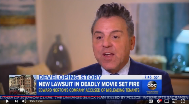 New Lawsuit In Deadly Movie Set Fire